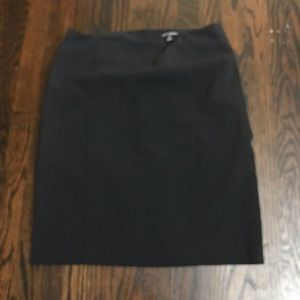 Fashion Bug black classic pencil skirt EUC size 8